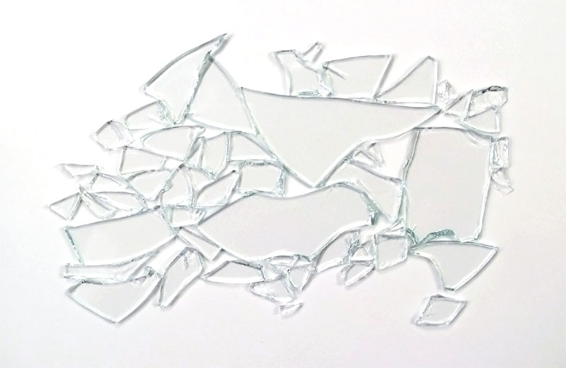 The art of sarah weinstock for What to do with broken mirror pieces